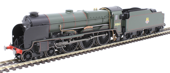 "BR Lord Nelson Class 4-6-0""Lord Rodney"""
