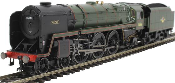 "BR Standard 7 'Britania'Class 4-6-2 ""Anzac"""