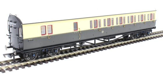 GWR Collett 57 Bow Ended E131 Nine Compartment Brake